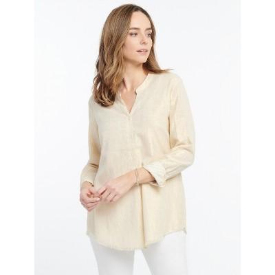 NIC+ZOE Women's Honeybee Shirt Gold