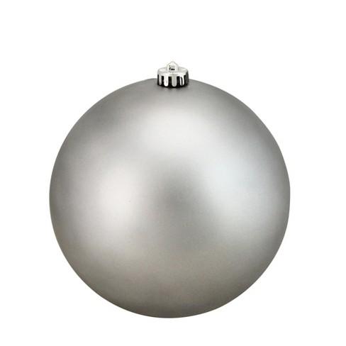 Northlight Pewter Gray Shatterproof Matte Christmas Ball Ornament 8 200mm Target