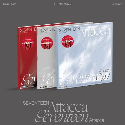 SEVENTEEN - SEVENTEEN 9th Mini Album 'Attacca' (Target Exclusive, CD)