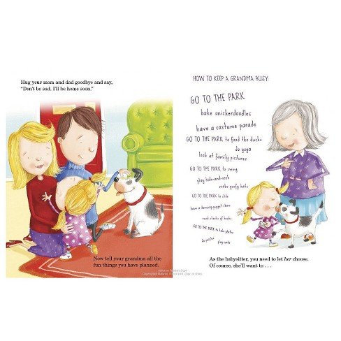 how to babysit a grandma hardcover by jean reagan and lee wildish