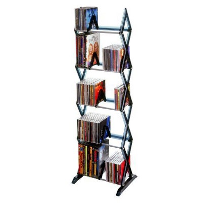 Atlantic Mitsu 5-Tier Media Rack - Smoke