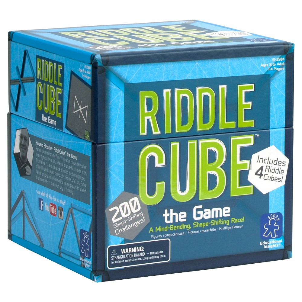 Riddlecube The Game 4pc, Brainteasers