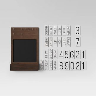 Chalk Calendar Brown - Threshold™