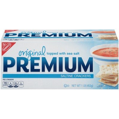 Crackers: Premium Original Saltine Crackers
