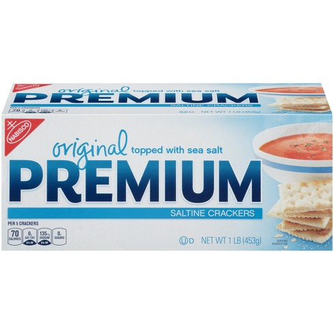 Premium Saltine Crackers, Original - 16oz - image 1 of 3