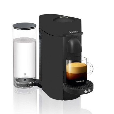 Nespresso VertuoPlus Deluxe Coffee and Espresso Machine by De'Longhi – Black Matte