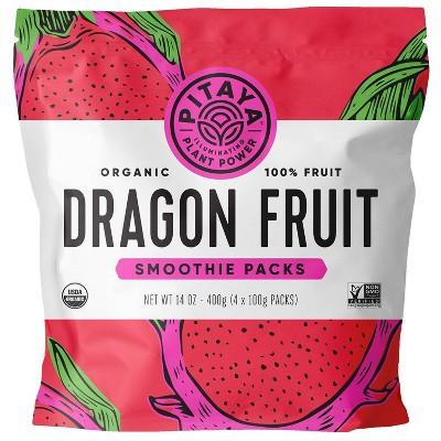 Frozen Organic Dragon Fruit Smoothie Packs - 14oz
