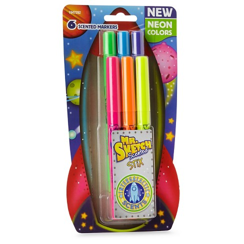 Mr. Sketch® Scented Stix Markers, 6ct - Neon - image 1 of 10