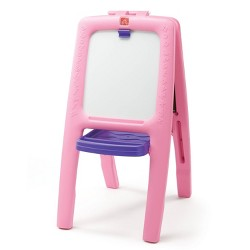 Step2 Easel For Two - 1 pk with foam Magnets - Pink