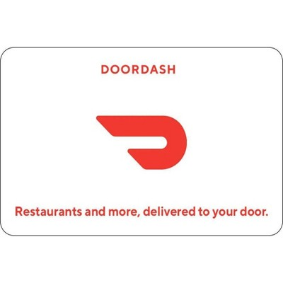 DoorDash Gift Card (Email Delivery)