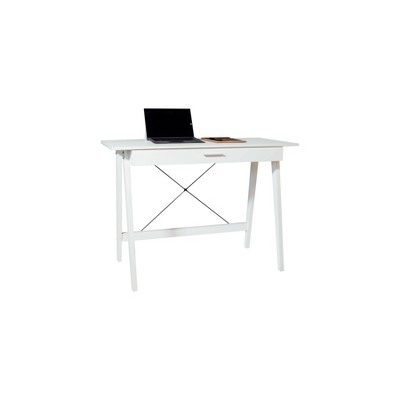Newport Computer Desk with Drawer - OneSpace