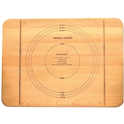 Wood Pastry Cutting Board in Birch Brown-Pemberly Row