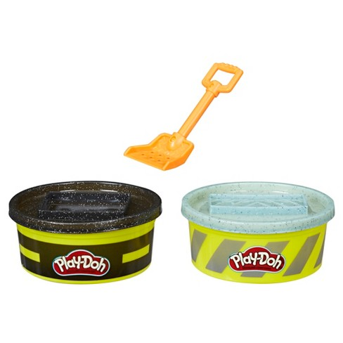 Play-Doh Wheels Cement and Pavement Buildin' Compound 2pk of 8oz Cans - image 1 of 2