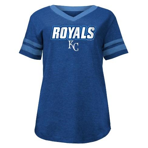 394eddf7 MLB Kansas City Royals Women's Pride Heather T-Shirt