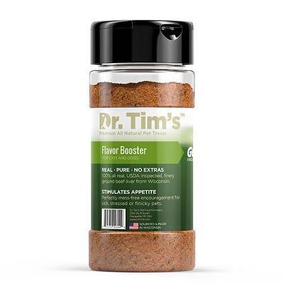 Dr. Tim's Beef Flavor Booster Dog Treats - 3oz