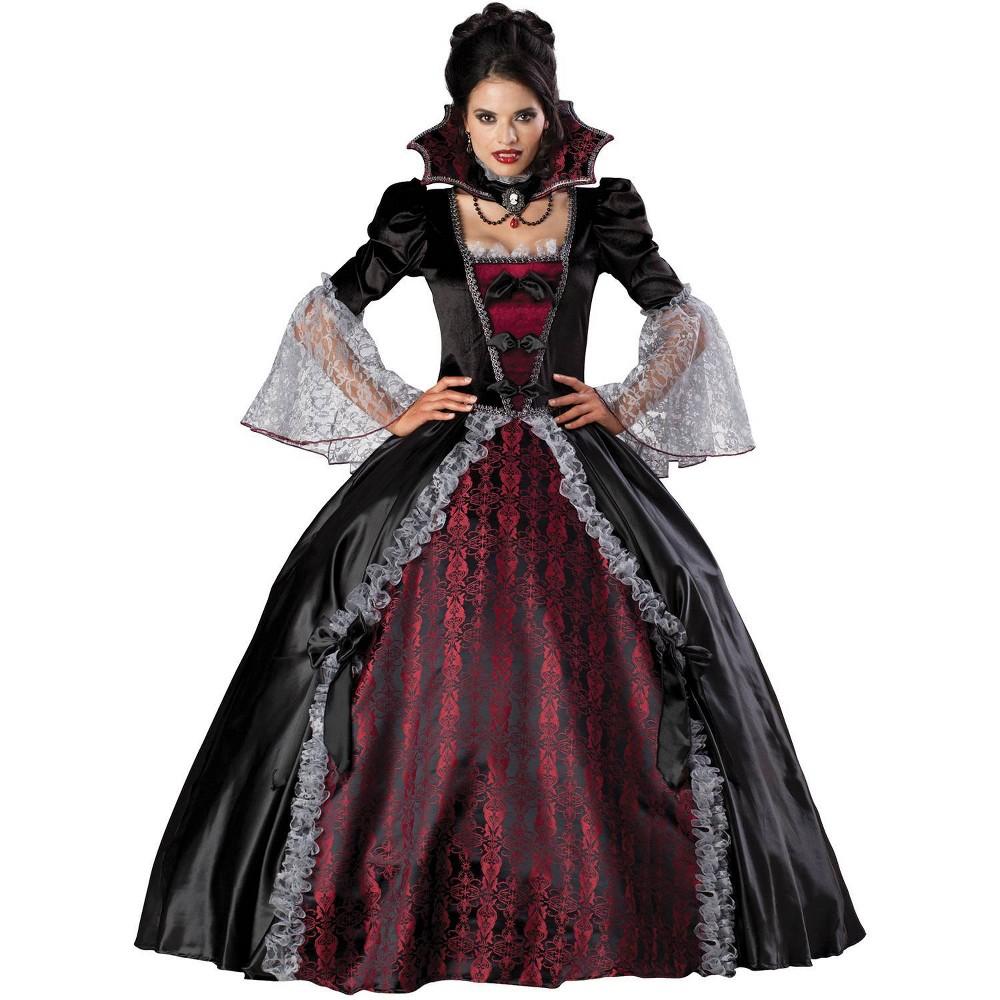 Image of Halloween Women's Vampiress Of Versailles Costume Large, MultiColored