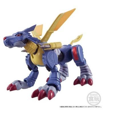 """Bandai Shokugan Shodo Digimon Vol. 2 MetalGarurumon 3.2"""" Action Figure"""