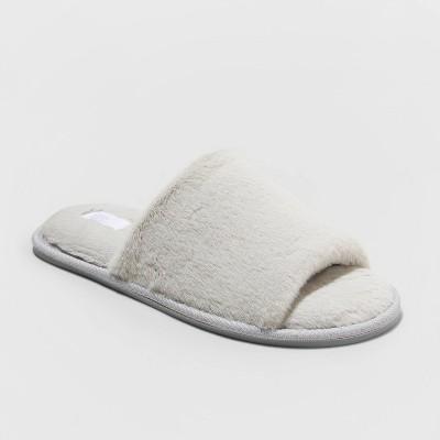 Women's Capri Slide Slippers - Stars Above™ Gray M (7-8)