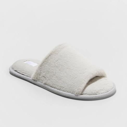 Women's Capri Slide Slippers - Stars Above™ Gray - image 1 of 4