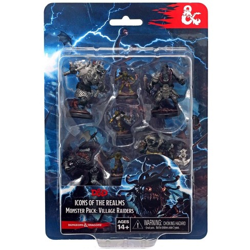 Dungeons and Dragons Icons of the Realms Monster Pack Village Raiders Figure 7-Pack - image 1 of 2