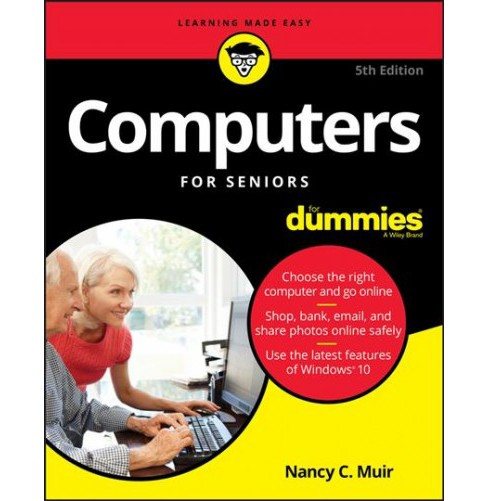 Computers for Seniors for Dummies -  by Nancy C. Muir (Paperback) - image 1 of 1