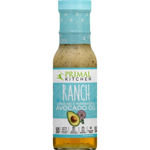 Primal Kitchen Dairy-Free Ranch Dressing with Avocado Oil - 8 fl oz - image 1 of 4
