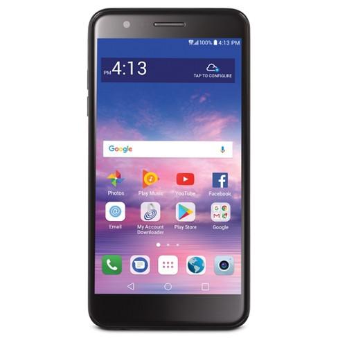 Simple Mobile LG Premier Pro LTE (LML413DL) 16 GB Smartphone - Black - image 1 of 4