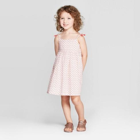 c9719d00576 OshKosh B gosh Toddler Girls  Floral Sundress - Coral   Target