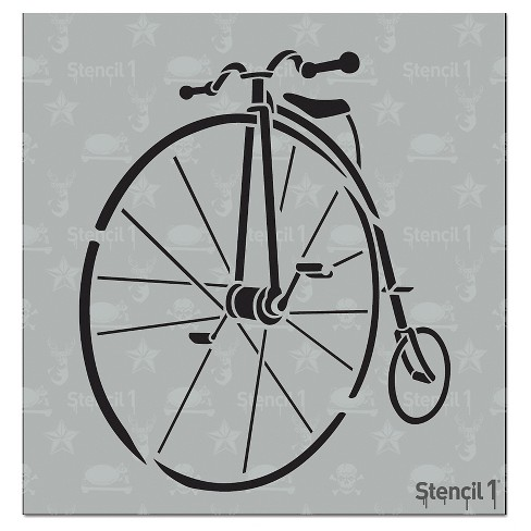 "Stencil1® Penny Farthing - Stencil 5.75"" x 6"" - image 1 of 3"