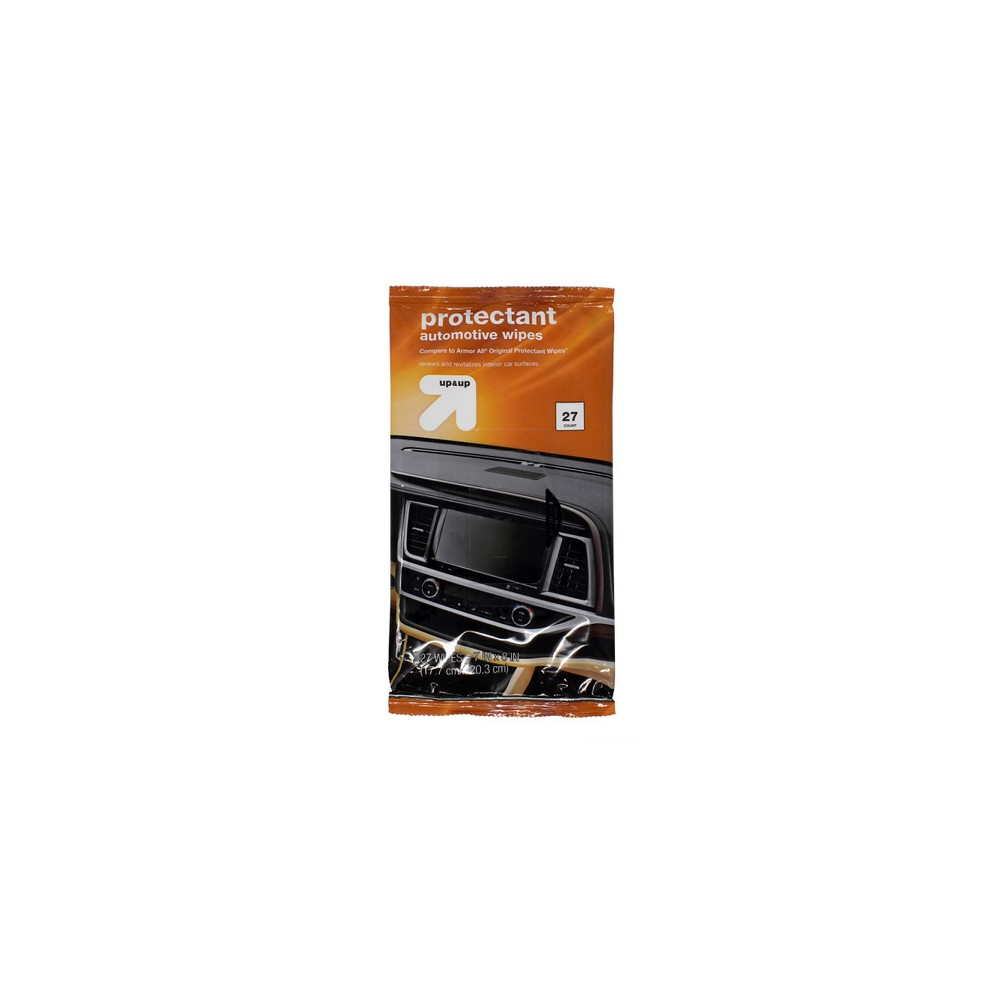 27ct Protectant Automotive Wipes Pouch Up 38 Up 8482