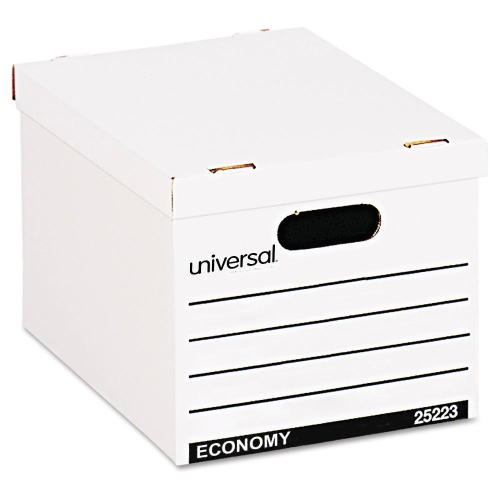 Universal Economy Boxes, 10 ct - White