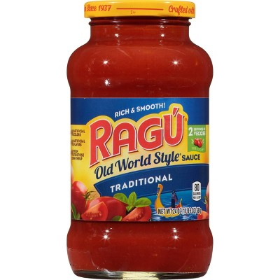 Ragu Old World Style Traditional Sauce - 24oz