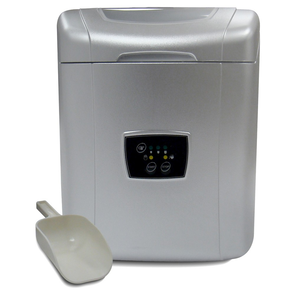 Vinotemp Portable Ice Maker – Silver, Light Silver 16773755