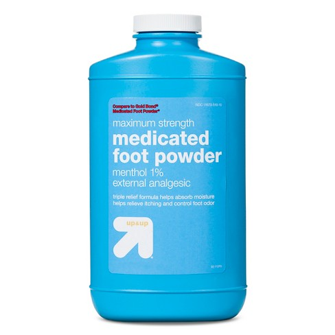Anti-Itch Medicated Foot Powder - 10oz - Up&Up™ - image 1 of 1