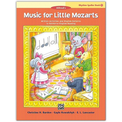Alfred Music for Little Mozarts: Rhythm Speller, Book 1 Level 1 - image 1 of 1