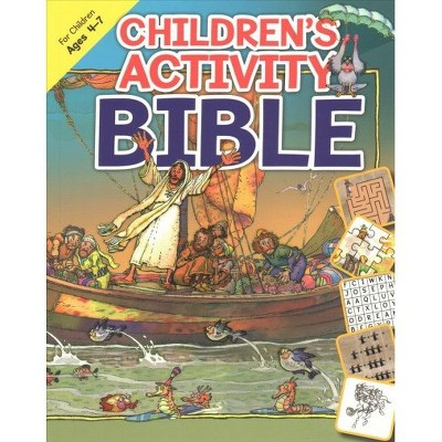 Children's Activity Bible - by Isabelle Gao (Paperback)