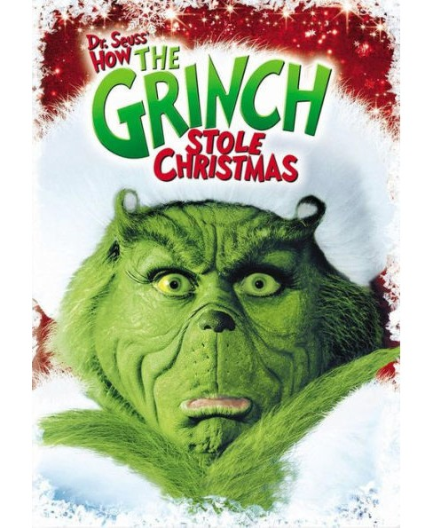 Dvd Dr Seuss How The Grinch Stole Christmas Dvd