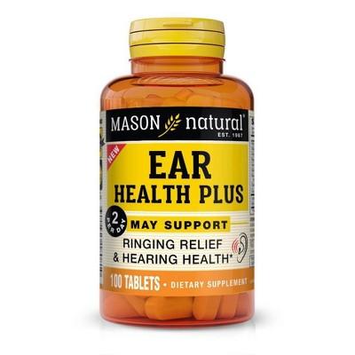 Mason Natural Advanced Ear Health Dietary Supplement - 100ct