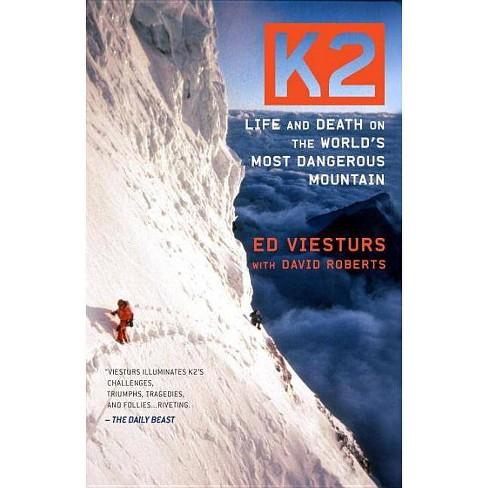 K2 - by  Ed Viesturs & David Roberts (Paperback) - image 1 of 1