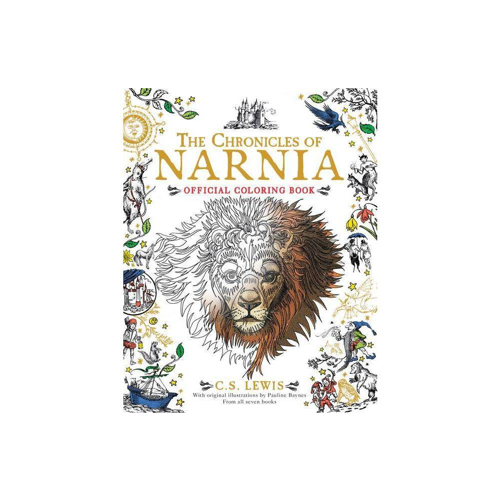 Chronicles Of Narnia Official Coloring Book By C S Lewis Paperback