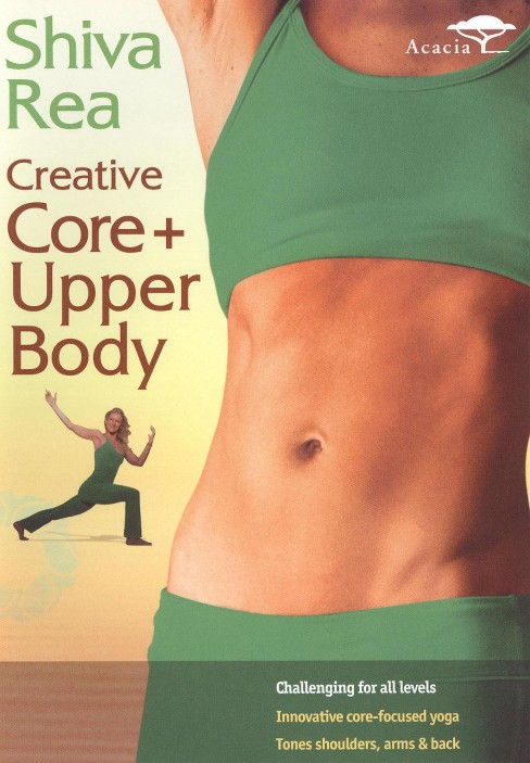 Shiva rea:Creative core plus upper bo (DVD) - image 1 of 1