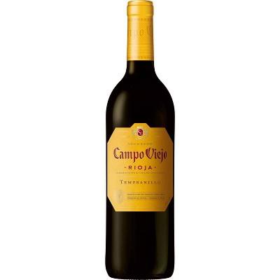 Campo Viejo Tempranillo Rioja Red Wine - 750ml Bottle