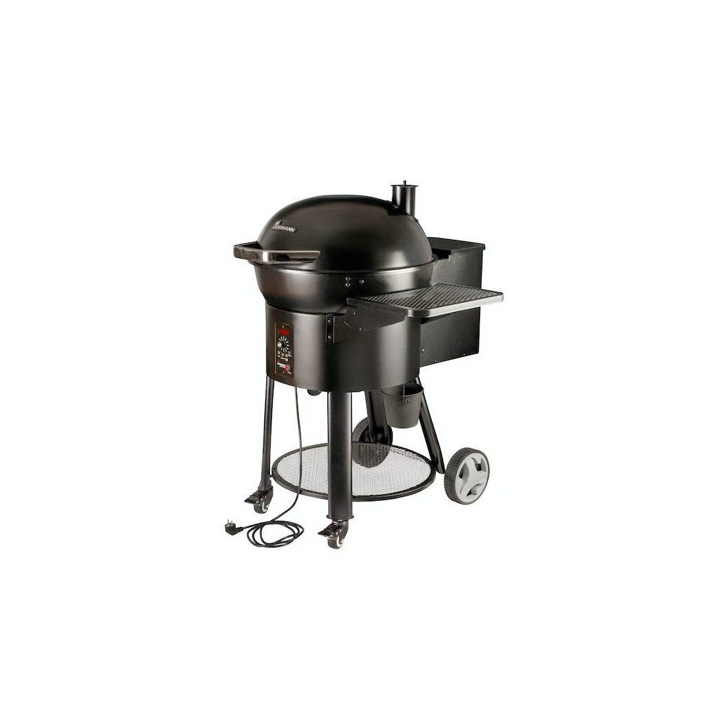 Image of Outdoor Patio Pellet Kettle Grill 470106 Black - Landmann, 39