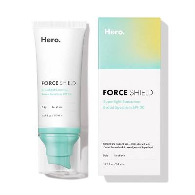 Hero Cosmetics Shield Superlight Broad Spectrum Sunscreen - SPF 30 - 1.69 fl oz