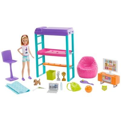 Barbie Team Stacie Room Playset