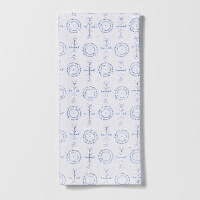Regiment Blue Medallion Kitchen Towel - Threshold™
