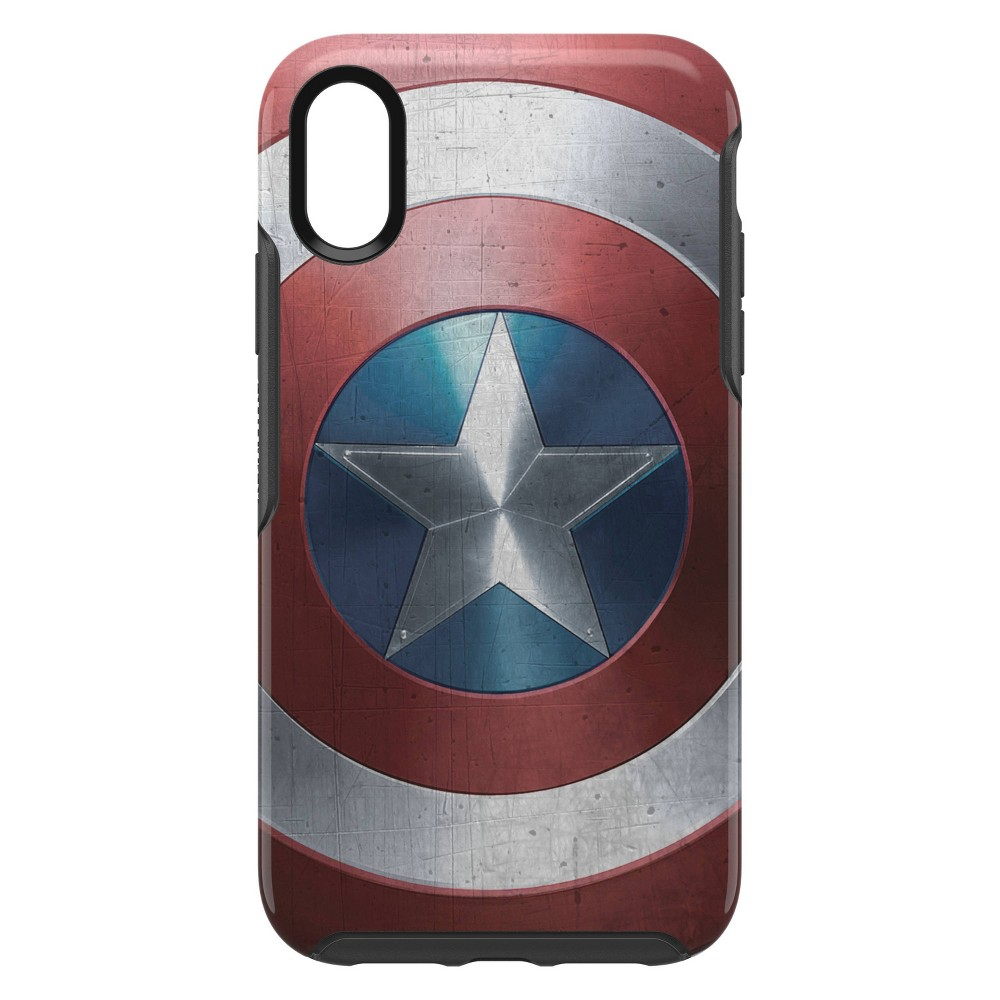 OtterBox Apple iPhone XR Marvel Symmetry Clear Case - Captain America