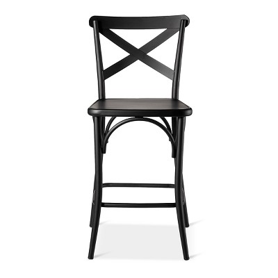 "24"" French Bistro High Back Counter Height Barstool - Threshold™"