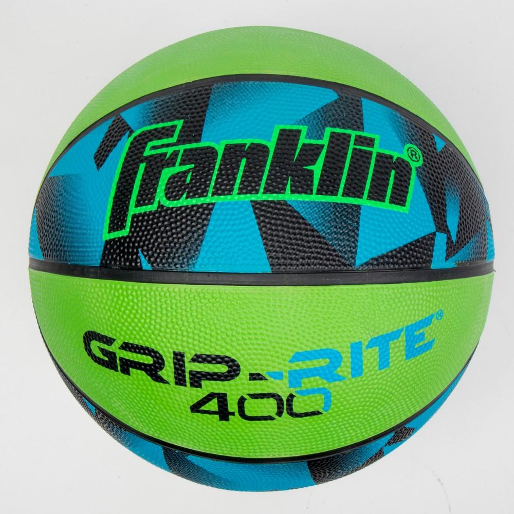 Franklin Sports 27.5 Grip-Rite 400 Prizm Basketball - Blue