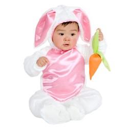 Baby Plush Bunny Costume 0-6M - Charades Costumes